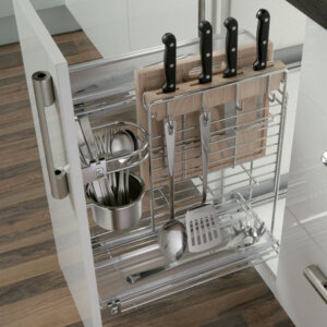 Multipurpose pull-out unit, for 300 mm cabinet width