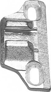 Blum 0mm diecast plate - 133.0240