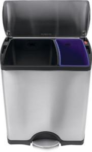 Deluxe rectangular recycler