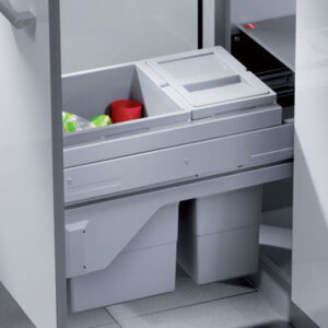 CargoSoft G waste bin, 25 litres