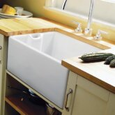 Rangemaster Classic Belfast CCBL595WH single bowl sink