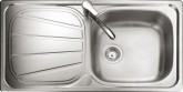 Rangemaster Baltimore BL9501 single bowl sink drainer