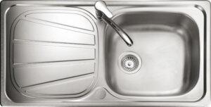 Rangemaster Baltimore BL9501 single bowl sink drainer