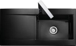 Rangemaster Nevada CNV1 single bowl sink and drainer