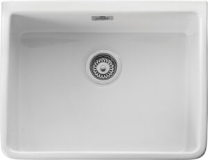 Rangemaster Belfast CBL595WH single bowl sink