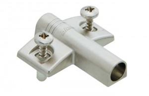 Blumotion for doors cruciform Expando adaptor, zink