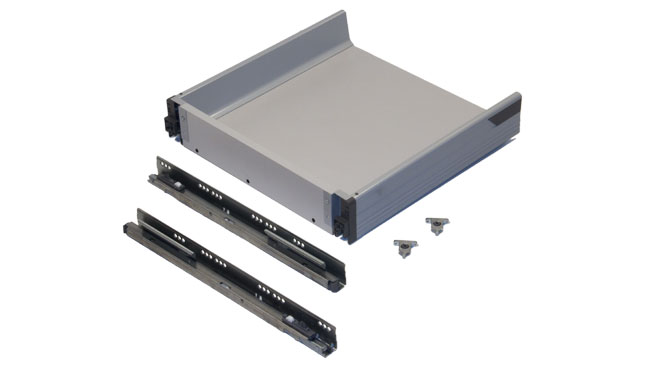 Blum pre built m height tandembox for Ready made kitchen drawers