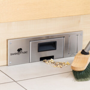 Sweepovac kitchen vacuum for plinths
