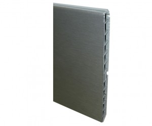 Stainless steel plinth