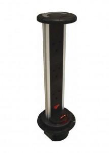 Vertical power dock