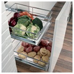 Pull-out Base Unit Storage