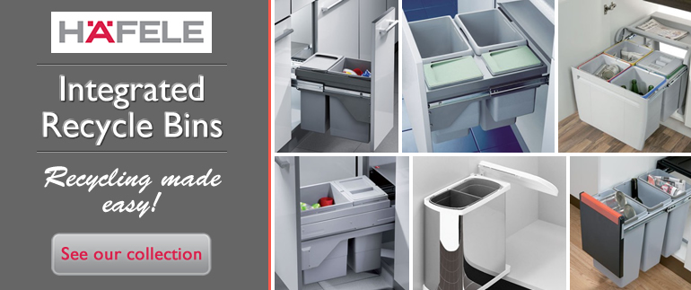Integrated Kitchen Bins Recycling Bins Cp Components