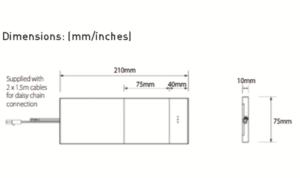 LED PAD Dimensions