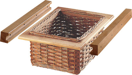 Pull Out Wicker Baskets For Your Kitchen