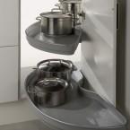Pro(arc PowerSlide® independant shelving unit, for 900/1000 mm cabinet