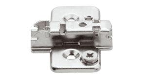 Blum 3mm cam adjustable steel plate for CLIP Top hinges