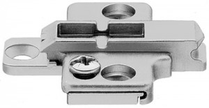 Blum 0mm height adjustable diecast plate for CLIP Top hinges