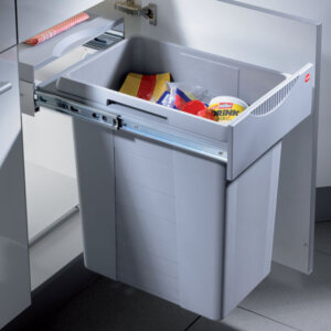 Pullout kitchen bins