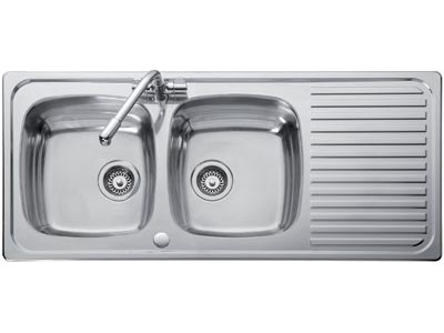 kitchen sinks double drainer hafele bowl amp single drainer sink kitchen sinks 6069