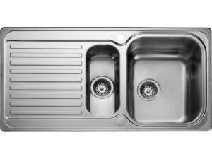 Rangemaster Sedona SD9852 1.5 bowl sink and drainer