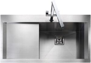Rangemaster Senator SN9951 single bowl sink and drainer