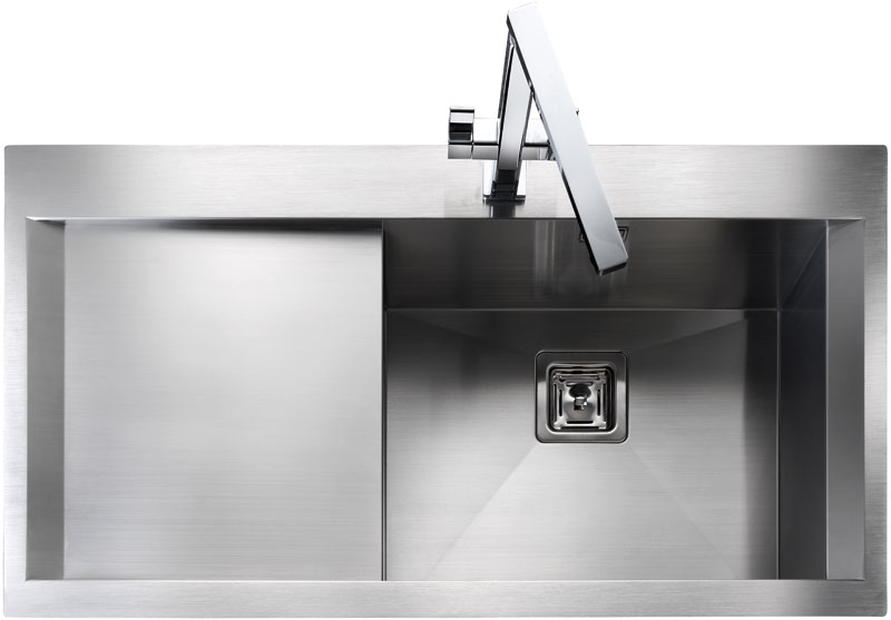 Rangemaster Senator SN9951 single bowl sink and drainer