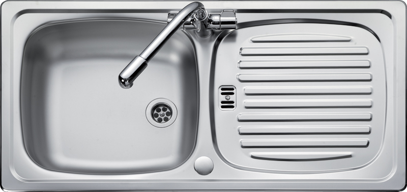 Rangemaster Euroline EL860 single bowl sink and drainer