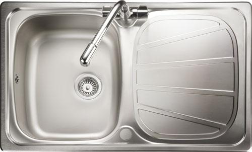 Rangemaster Baltimore BL8001 compact single bowl sink drainer