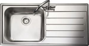 Rangemaster Oakland OL9851 single bowl sink and drainer