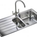 Rangemaster Oakland OL9852 1 1/2 bowl sink and drainer