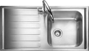 Rangemaster Manhattan MN10101 single bowl sink and drainer