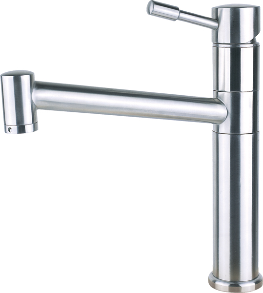 Top lever mixer tap