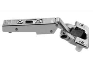 Blum 100 degree clip-on hinge with dowels