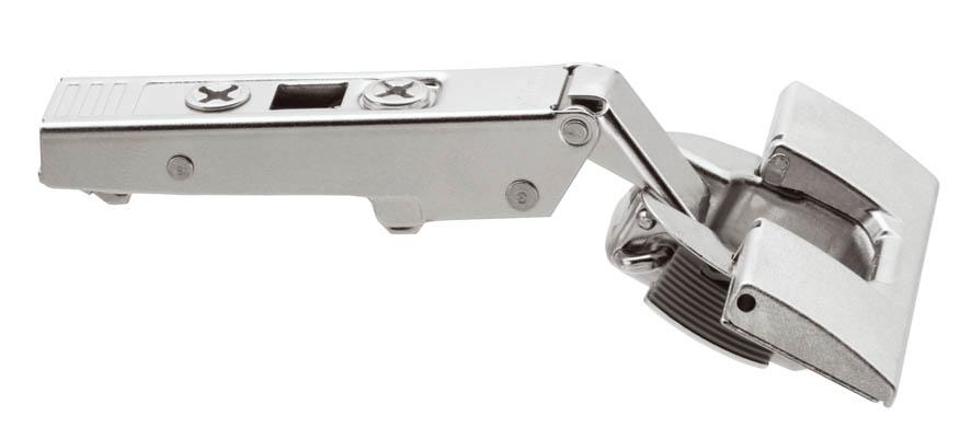 Blum Inserta 107 degree clip top hinge, overlay application
