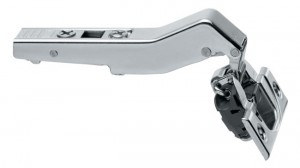 Blum +45 degree clip top angled hinge overlay with built in blumotion