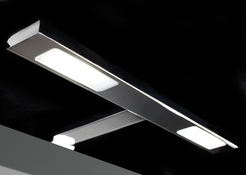 Loox Compatible 350mA LED K-2 cornice light, 2x 3.5W