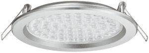 Loox 24V LED 3002 Recess mounted downlight, Ø 127 mm