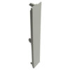 End cap for stainless steel plinth