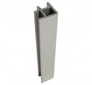 90 degree corner for stainless steel plinth