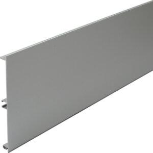 Aluminium plinth panel