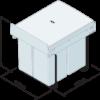 40 litre waste bin for 40cm cabinet dimensions.