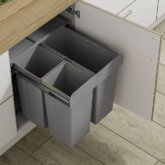 60cm Base Unit with 68 Litre Capacity, Soft Closing Mechanism