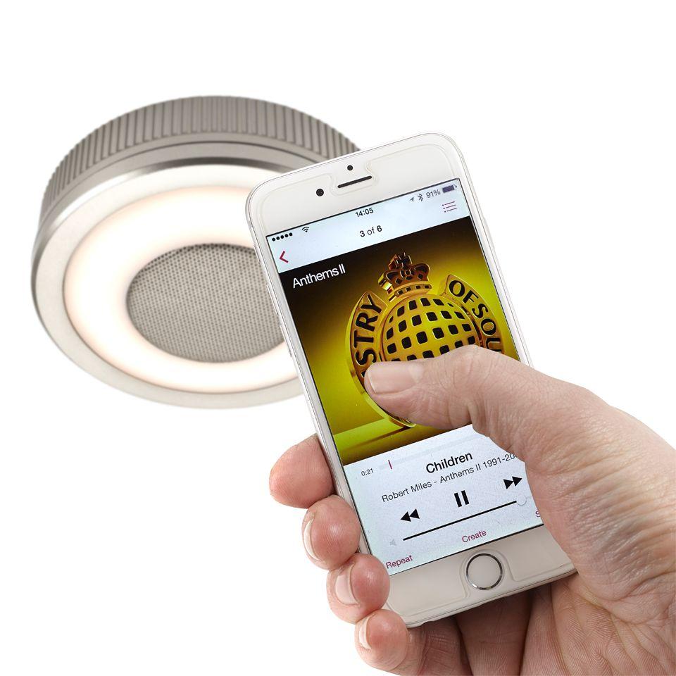 Sensiosound - LED Bluetooth Speaker Light