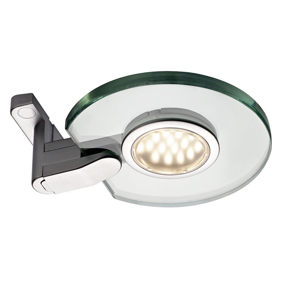 Aura Round Glass LED Light